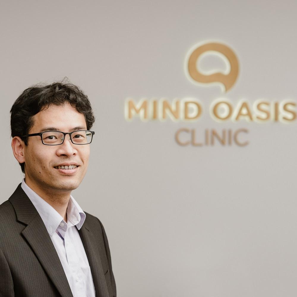 Dr Clint Pistilli psychiatrist Mind Oasis Clinic Strathfield