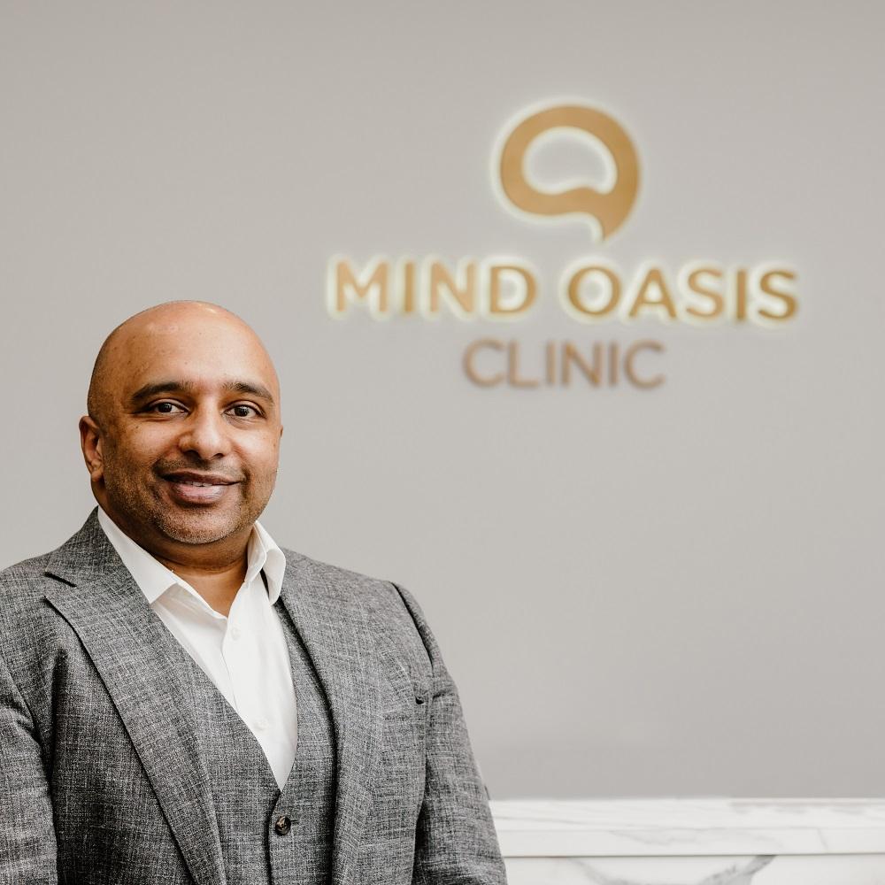 Dr Sukumar Rajendran Mind Oasis Clinic