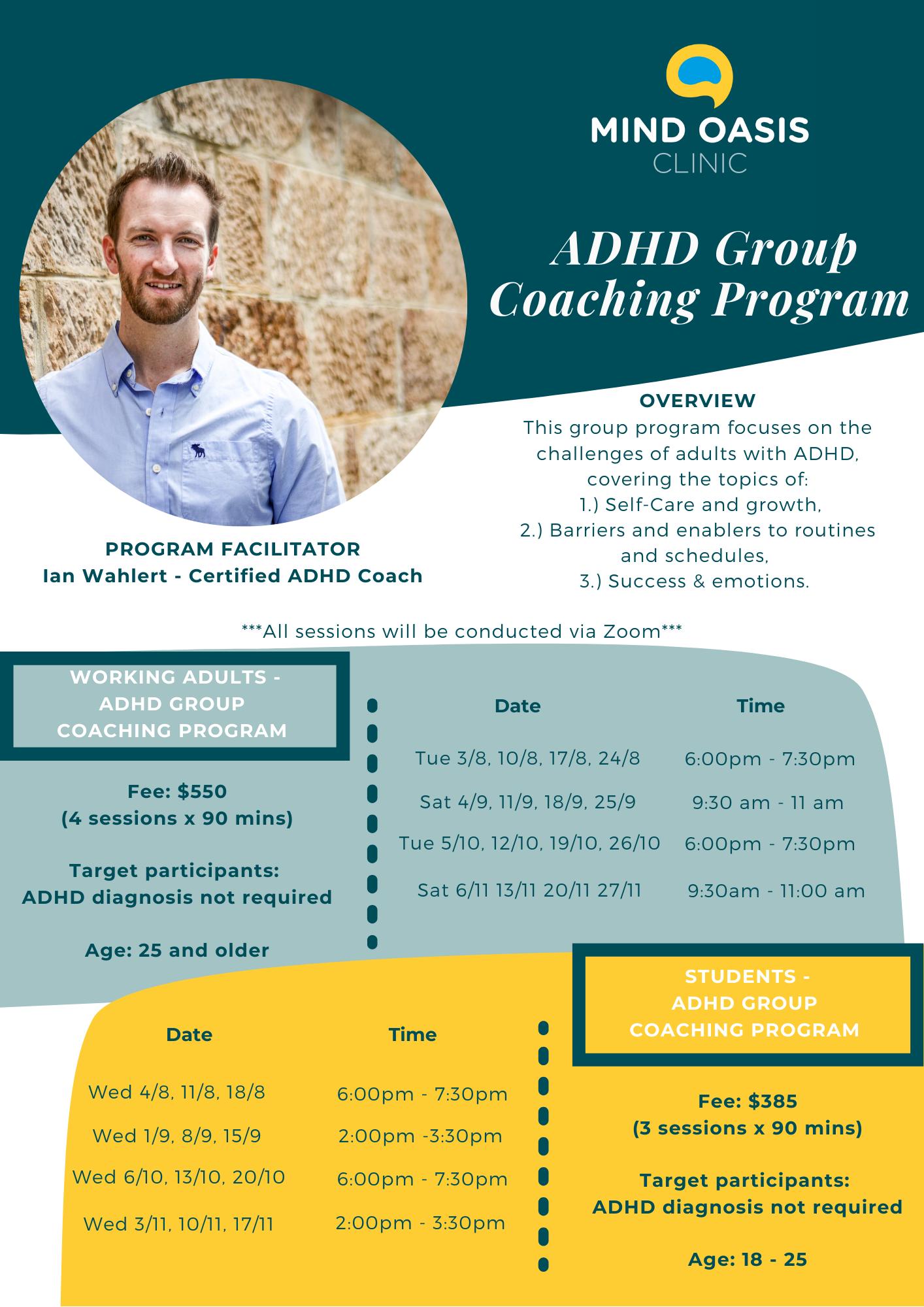 ADHD Coaching Program